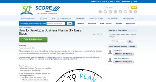 business plan video tutorials