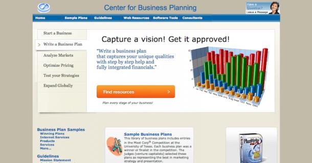 business planning websites